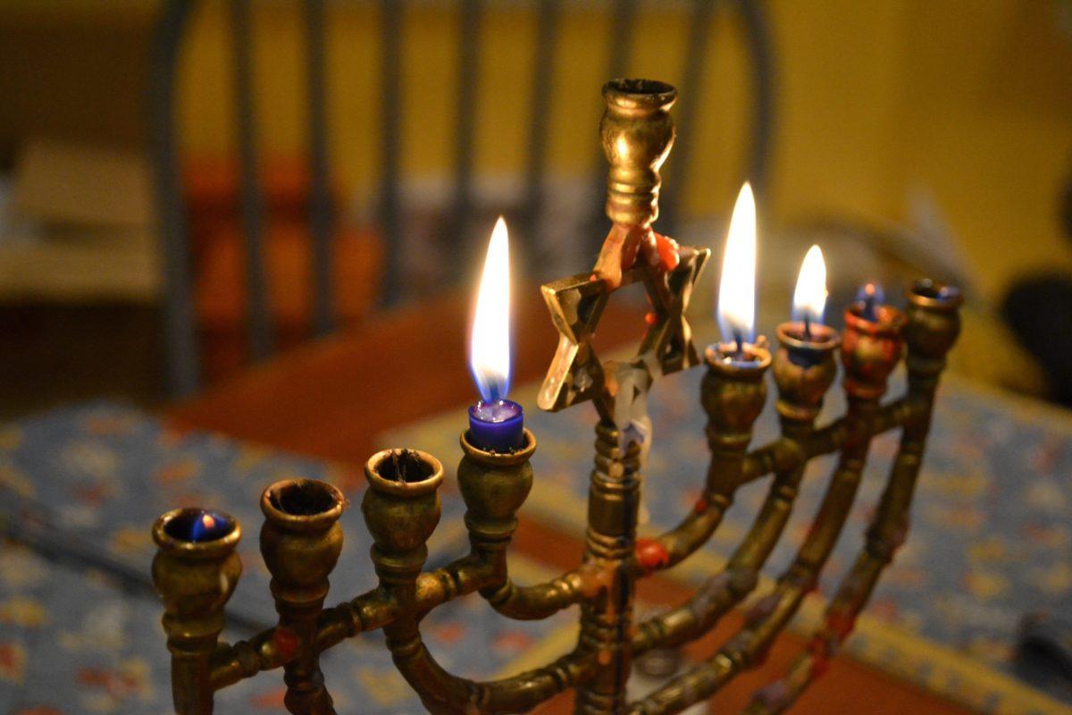 HANUKKAH jewish festival holiday candelabrum candle menorah …