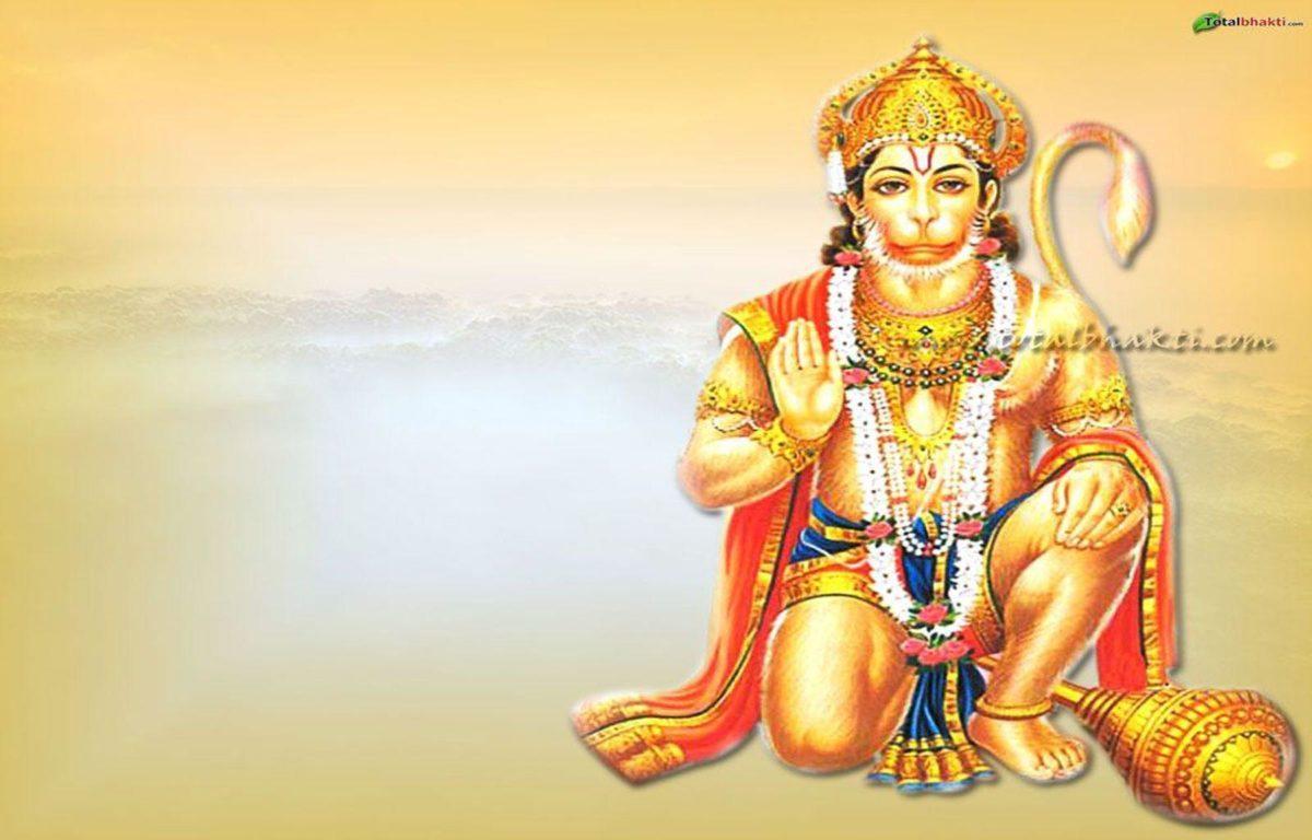 hanuman wallpaper, Hindu wallpaper, Lord Hanuman blessing, orange …