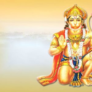download hanuman wallpaper, Hindu wallpaper, Lord Hanuman blessing, orange …
