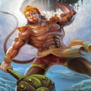 download hanuman wallpaper, Hindu wallpaper, Lord Hanuman lifting mountain …