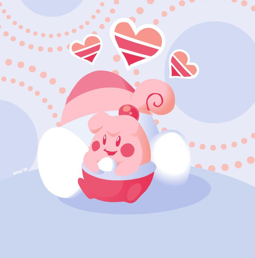 Day 20: Favourite Baby Pokemon – Happiny by avroillusion on DeviantArt