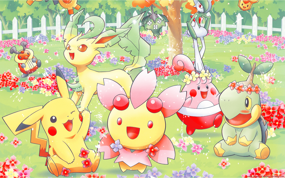 Pokémon Spring Full HD Wallpaper and Background Image | 1920×1200 …