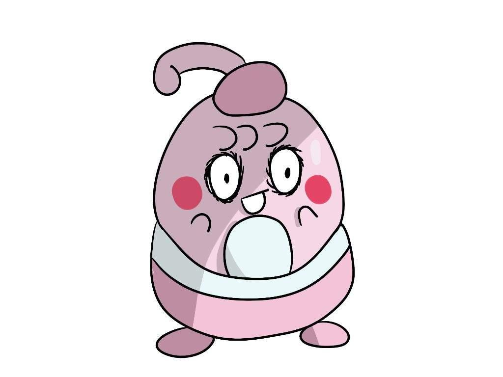 Happiny doesn't look so happy(My art) | Pokémon Amino