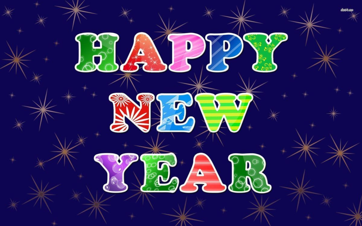 Happy New Year wallpaper – Holiday wallpapers – #