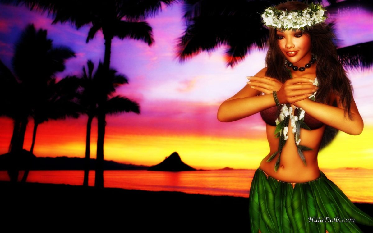 Hawaiian Widescreen Wallpaper