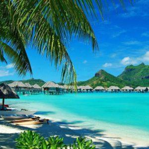 download Hawaiian bungalows wallpaper – Beach wallpapers – #