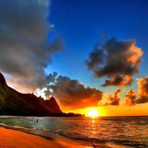 download Hawaii Beach Sunset Wallpaper 2015 | 2015travelling.