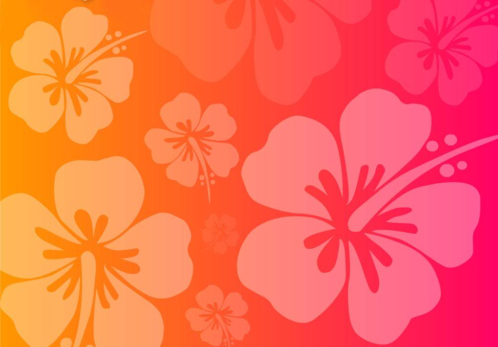 Hawaiian Flower Wallpaper : Pink Hawaiian Flowers Background Utama …