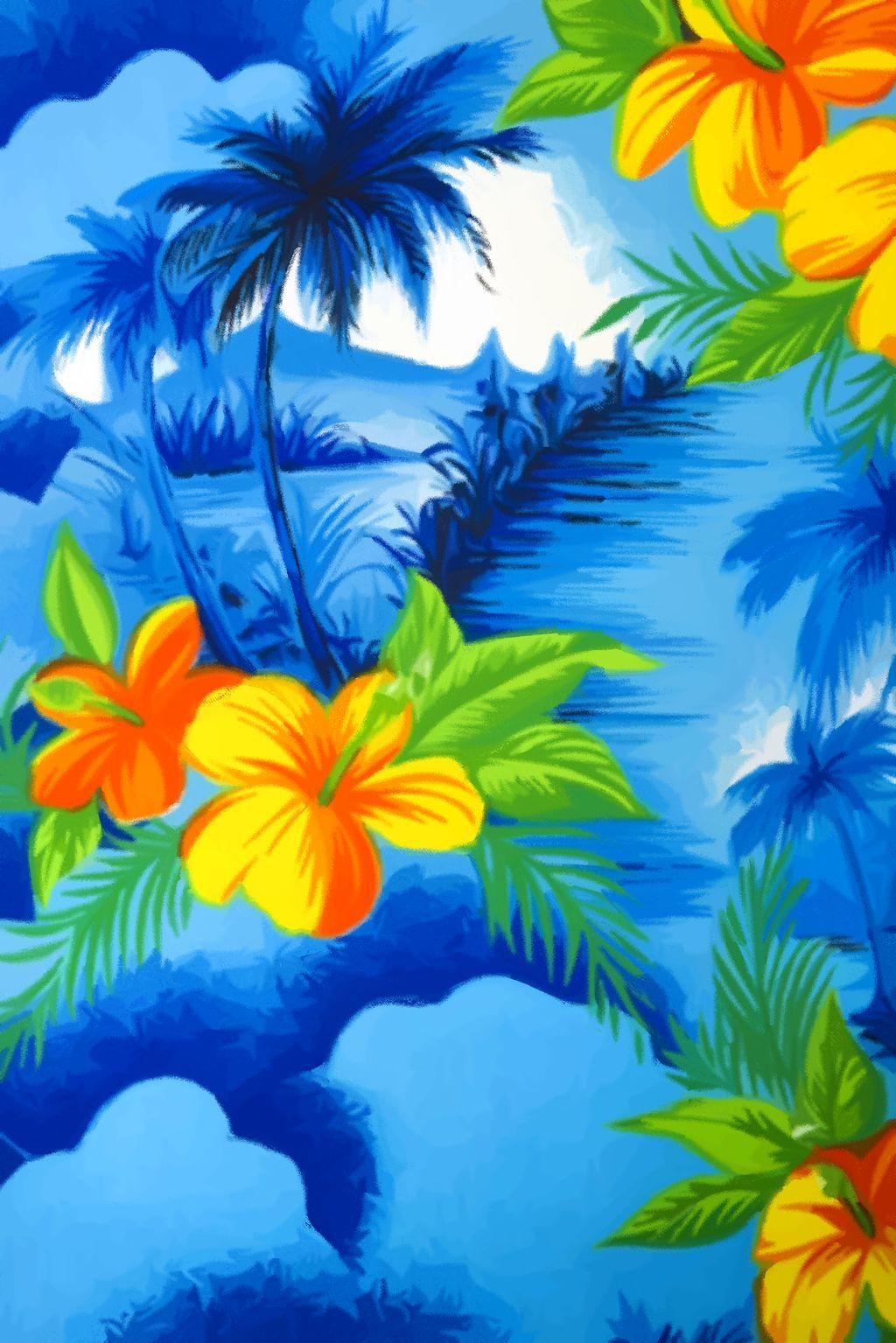 Hawaiian Flowers Wallpaper Backgrounds – WallpaperSafari