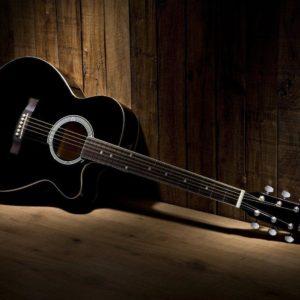 download Download Black Acoustic Guitar Wallpaper   Full HD Wallpapers
