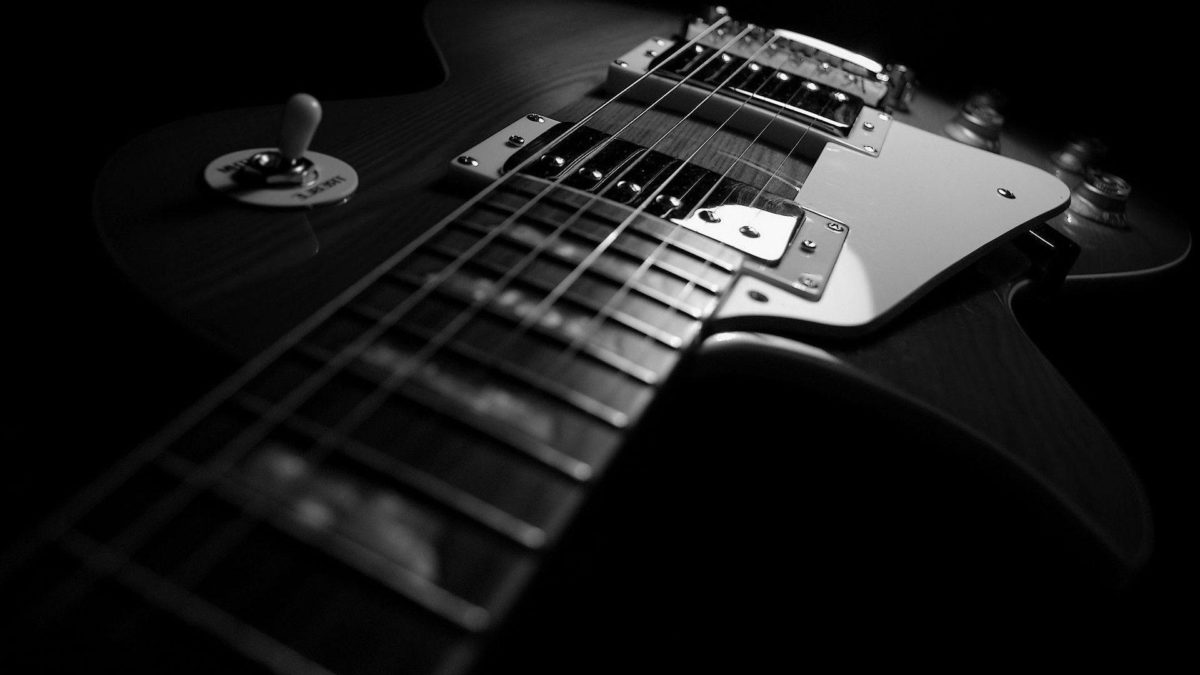 Wallpaper HD 1080p Black And White Guitar – Tuffboys.com