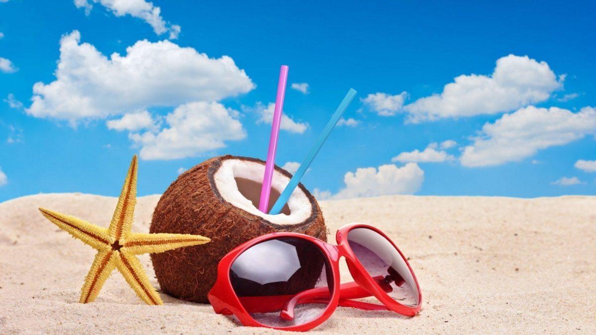 Summer Beach HD Desktop Background Wallpaper – HD Wallpapers