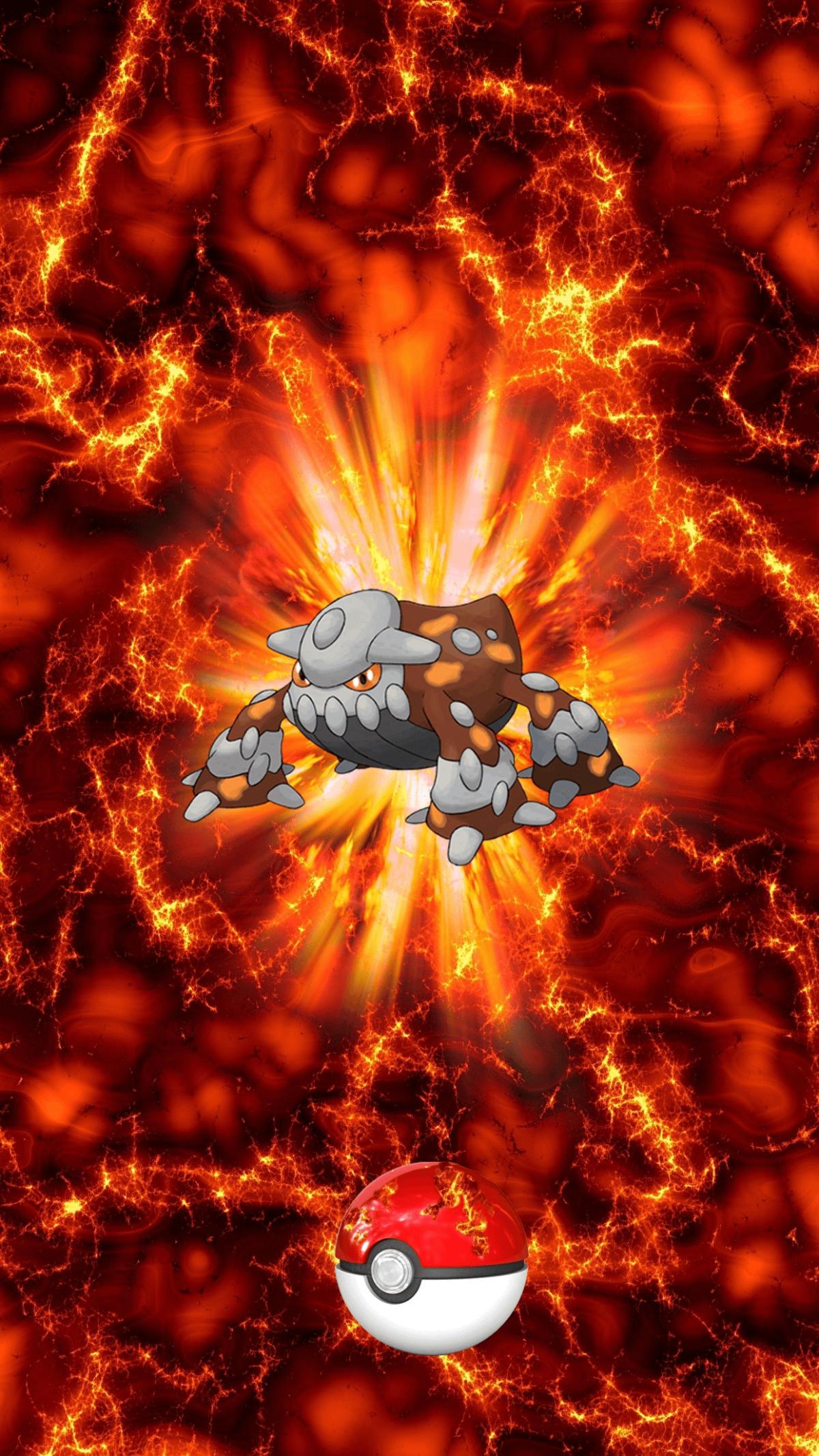 485 Fire Pokeball Heatran Heatran 2 | Wallpaper