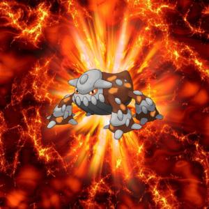 download 485 Fire Pokeball Heatran Heatran 2 | Wallpaper