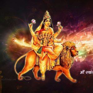 download Durga Hindu Skandmata Pink HD God Images,Wallpapers & Backgrounds