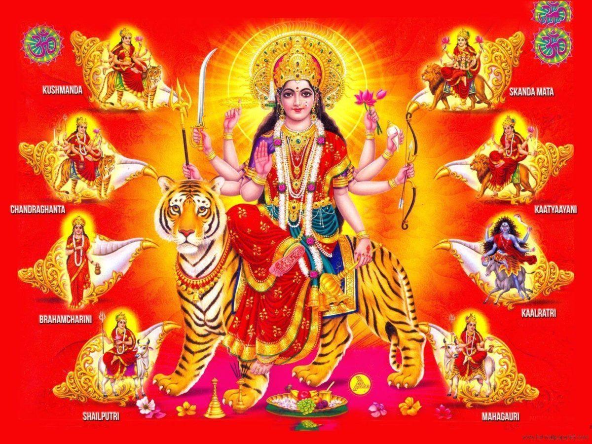 Durga Matha wallpapers backgrounds – Hindu god goddess wallpapers …