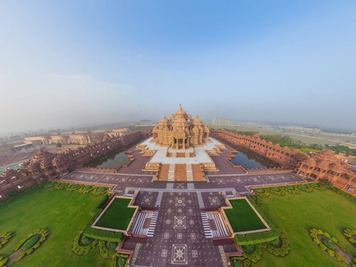 Swaminarayan Akshardham Hindu Temple in Delhi HD Wallpapers | HD …