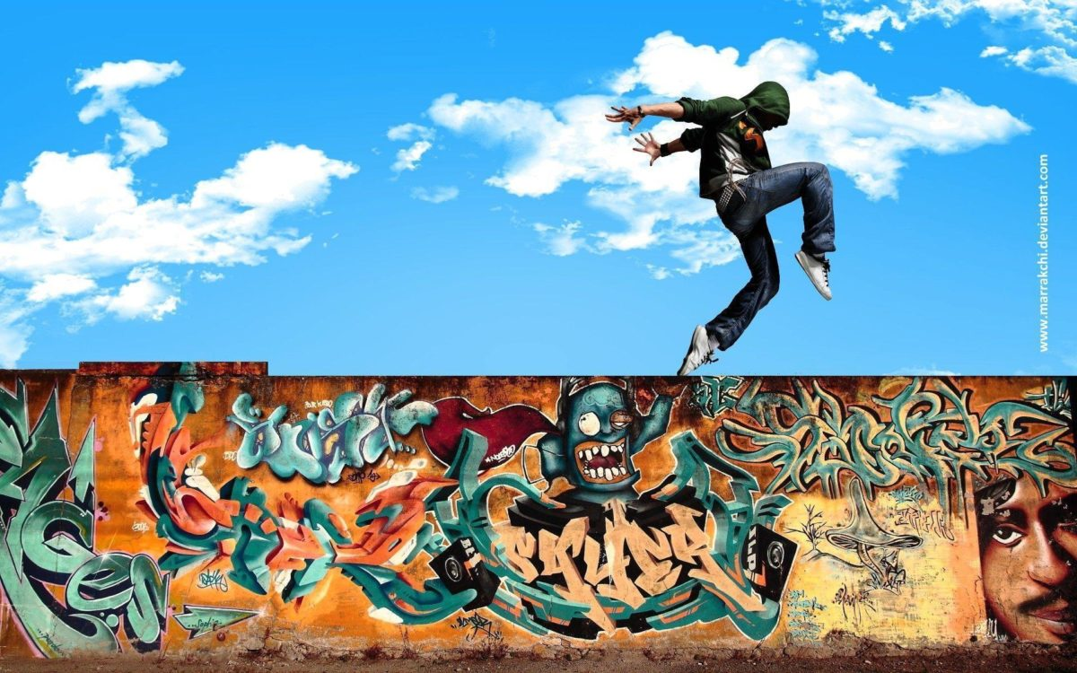 Download Dance Hip Hop In Street By Marrakchi Dqe Wallpaper | Full …