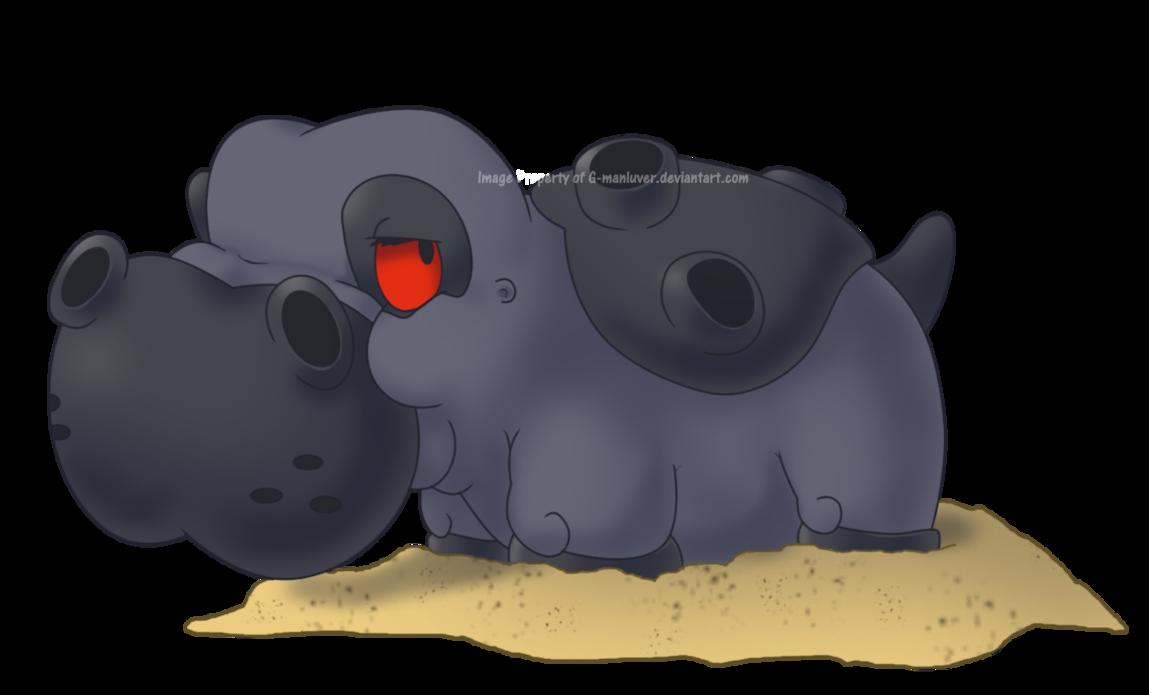 Nicknameless Hippowdon by G-manluver on DeviantArt