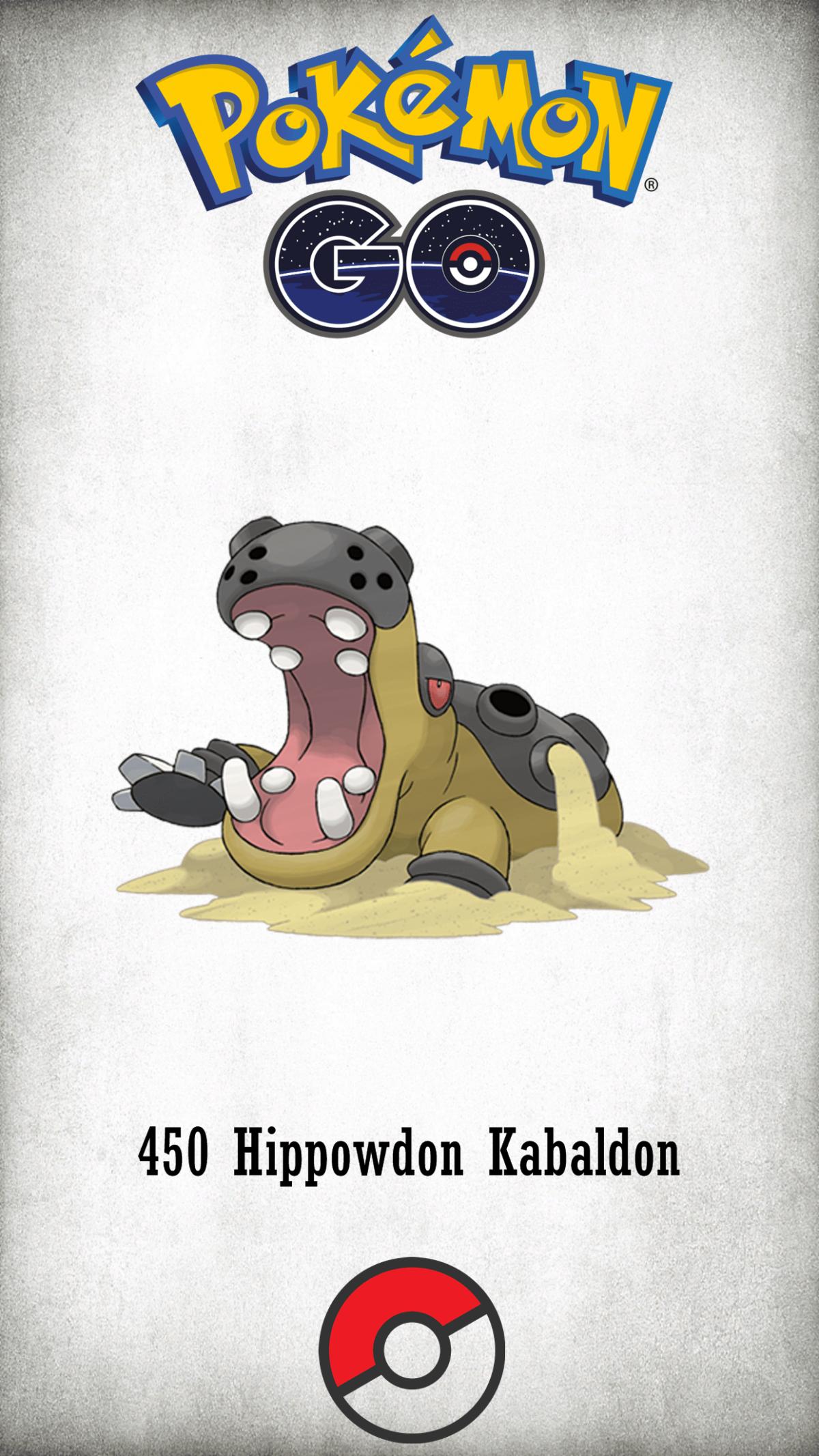 450 Character Hippowdon Kabaldon | Wallpaper
