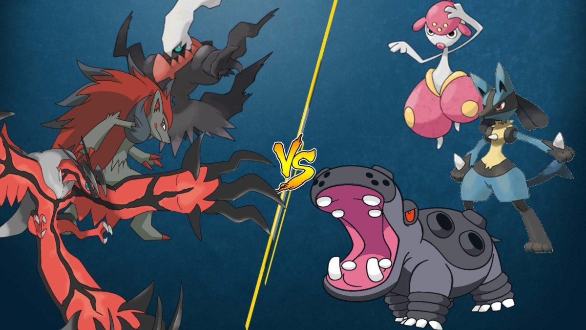 PTCGO Stream Match] Zoroark and friends vs Hippowdon/Lucario …