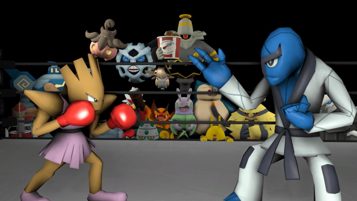 Sawk vs Hitmonchan by kirby62626 on DeviantArt