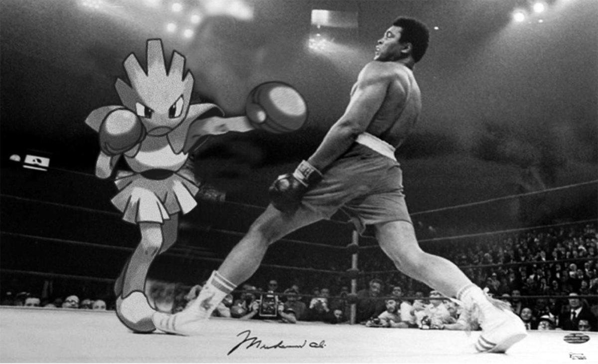 Hitmonchan v. Ali : pokemon