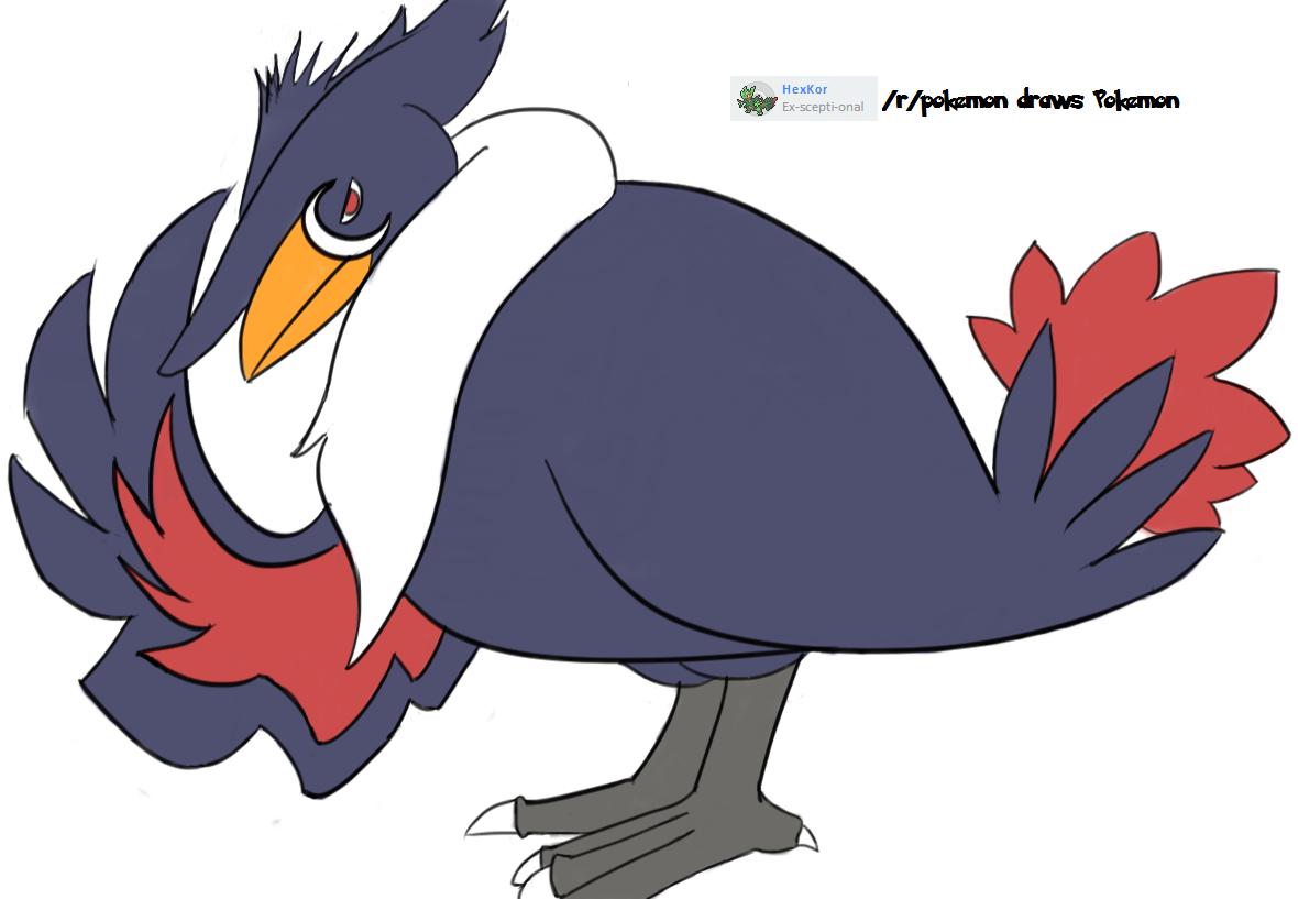 Pokemon of the Week] Honchkrow : pokemon