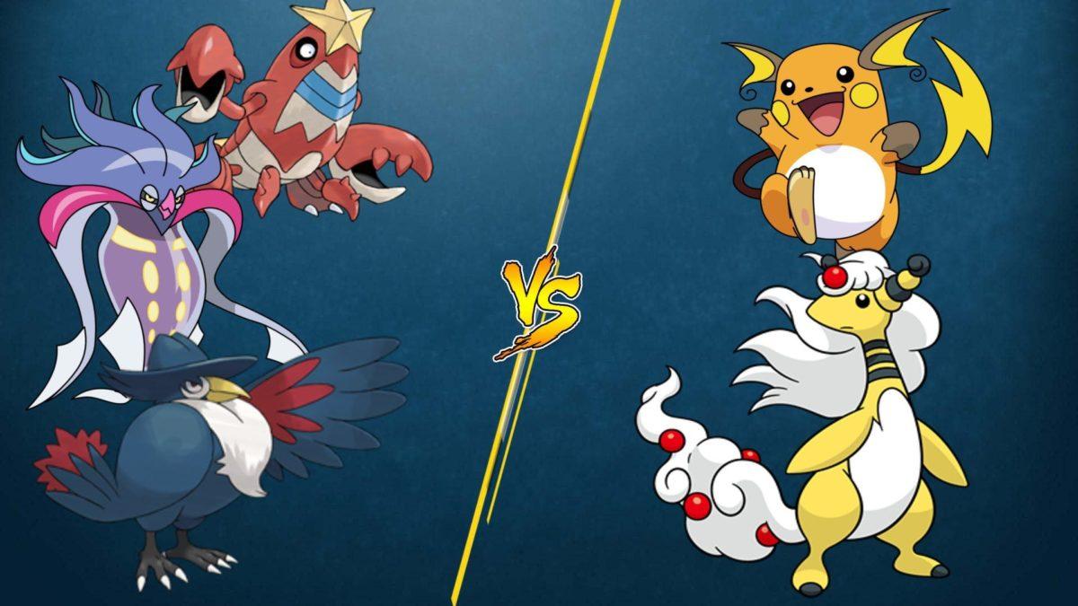 PTCGO Stream Match] Honchkrow/Malamar/Crawdaunt vs M Ampharos/Raichu …