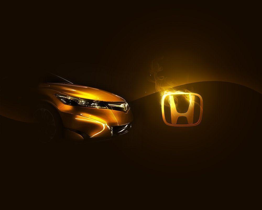 Pix For > Honda Logo Wallpaper