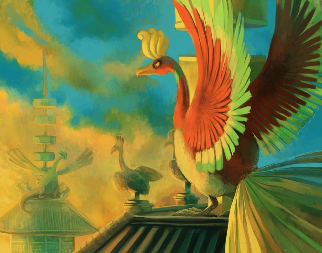 Ho-oh images Ho-Oh and Lugia HD wallpaper and background photos …