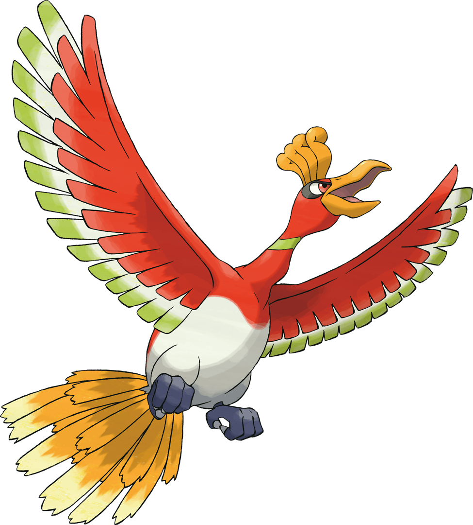Ho-oh screenshots, images and pictures – Giant Bomb