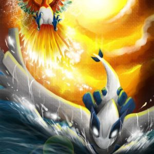 download Ho-oh and Lugia by Nahlarys on DeviantArt