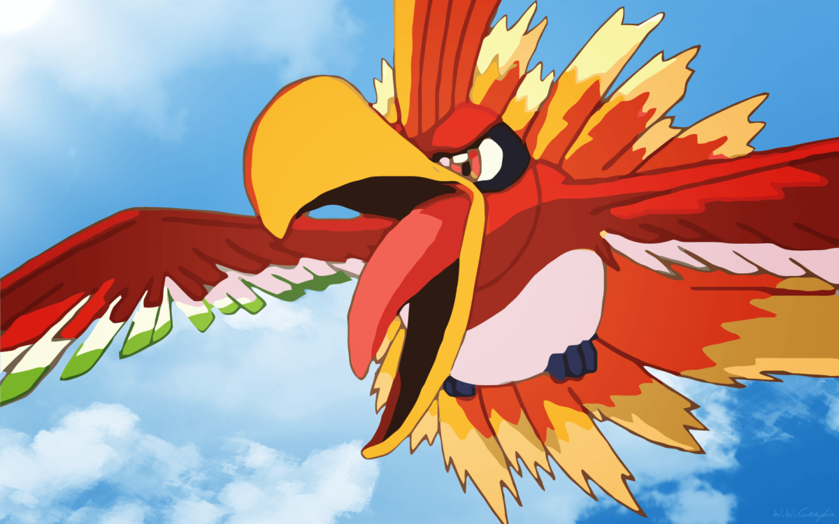 Ho-Oh HD Wallpapers