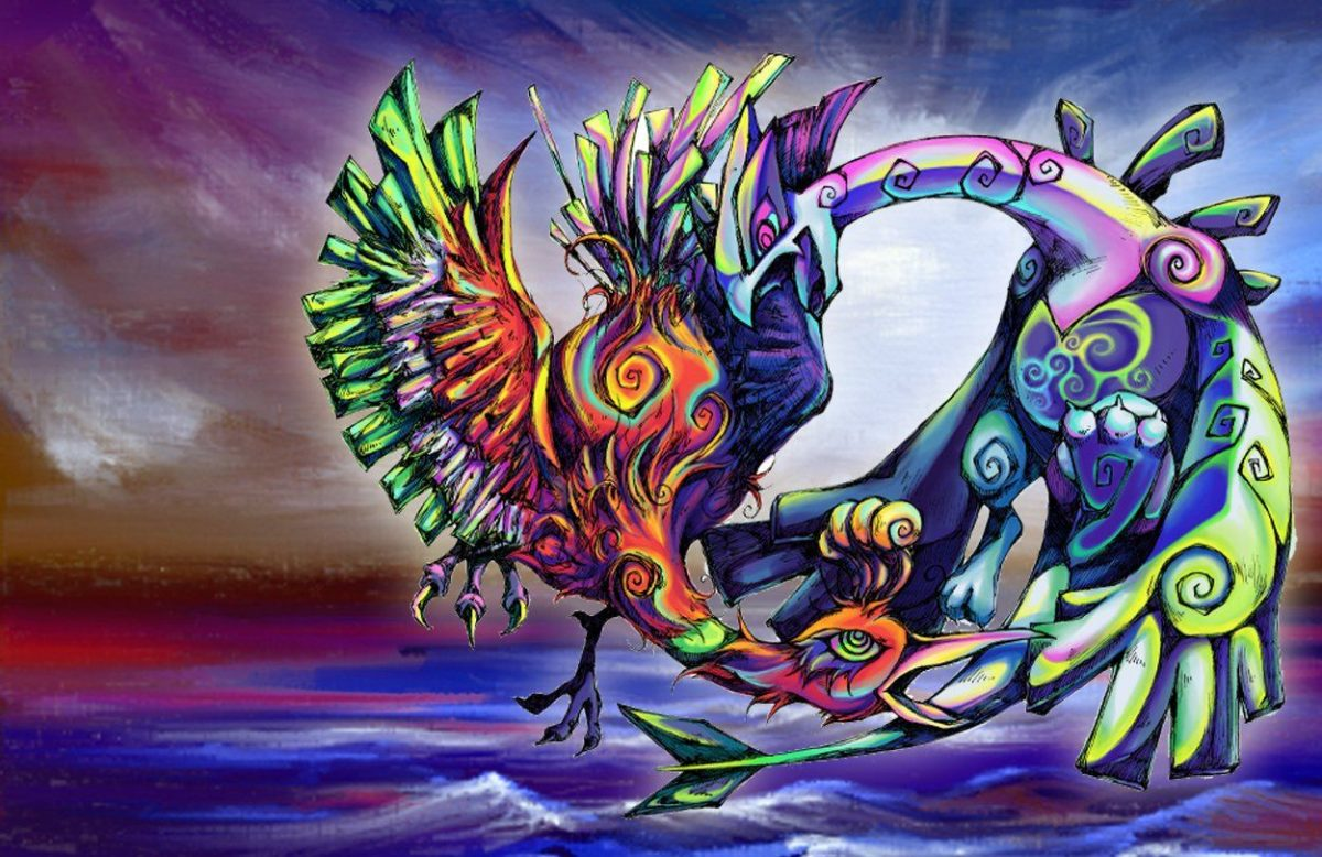 29 Ho-oh (Pokémon) HD Wallpapers | Background Images – Wallpaper Abyss