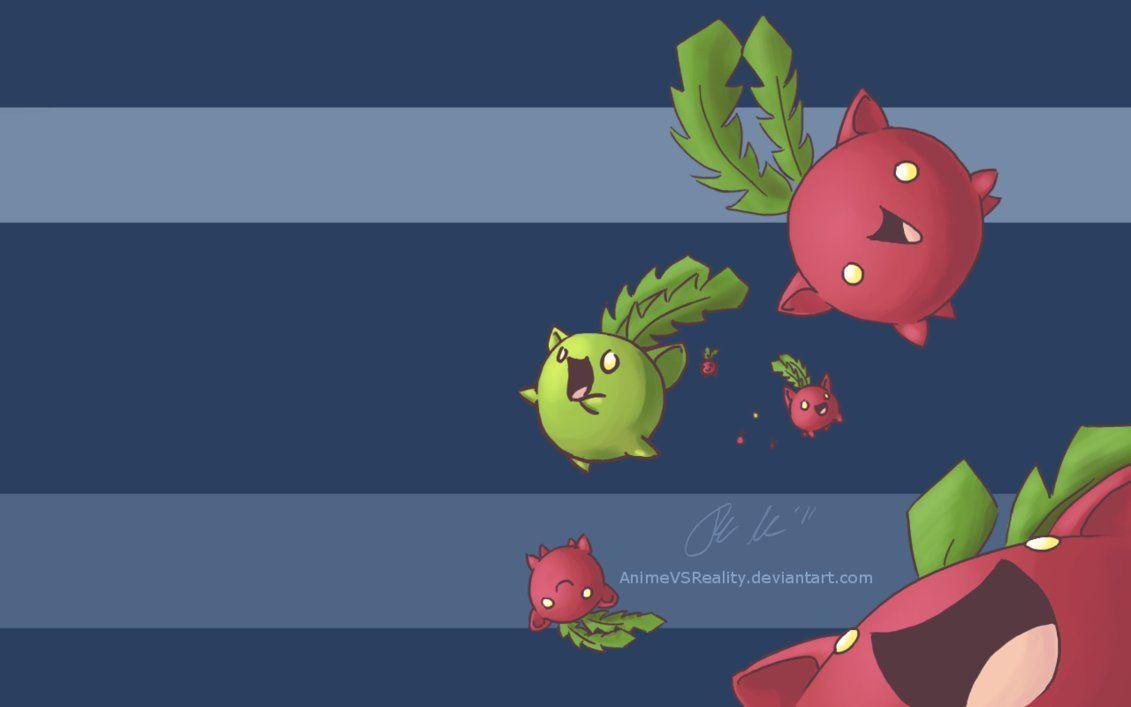 Hoppip Wallpaper by AnimeVSReality on DeviantArt