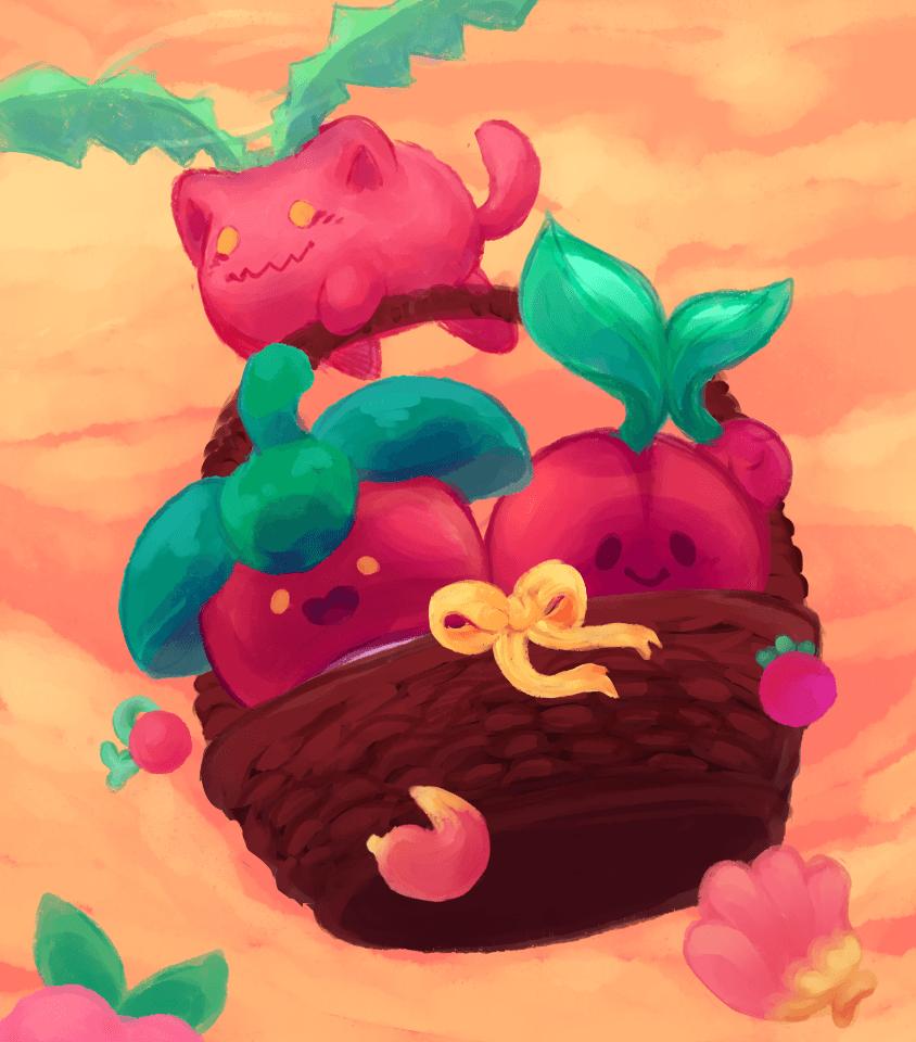Hoppip, Bounsweet, and Cherubi | Pokemon | Pinterest | Pokémon …