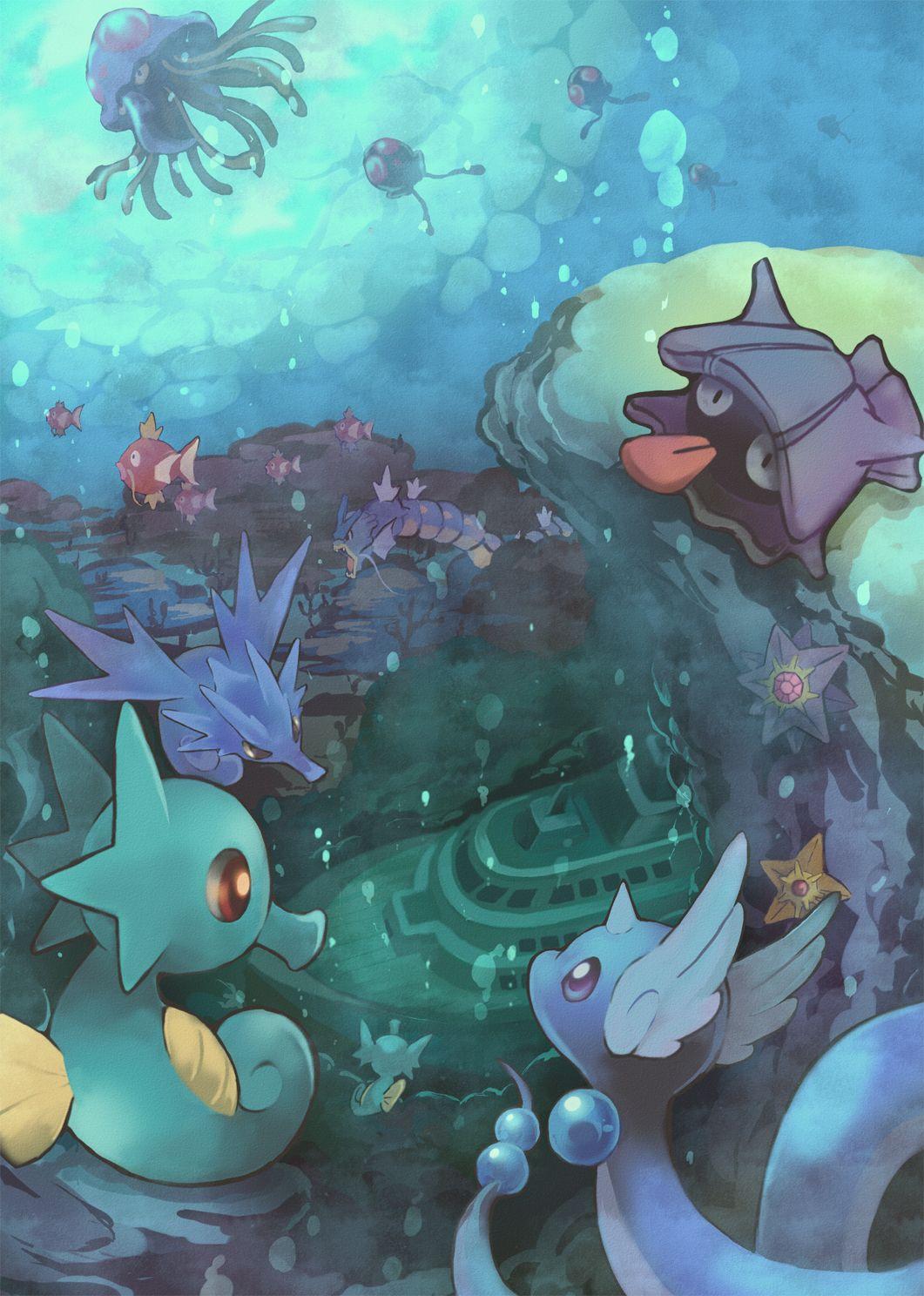 Horsea – Pokémon – Zerochan Anime Image Board
