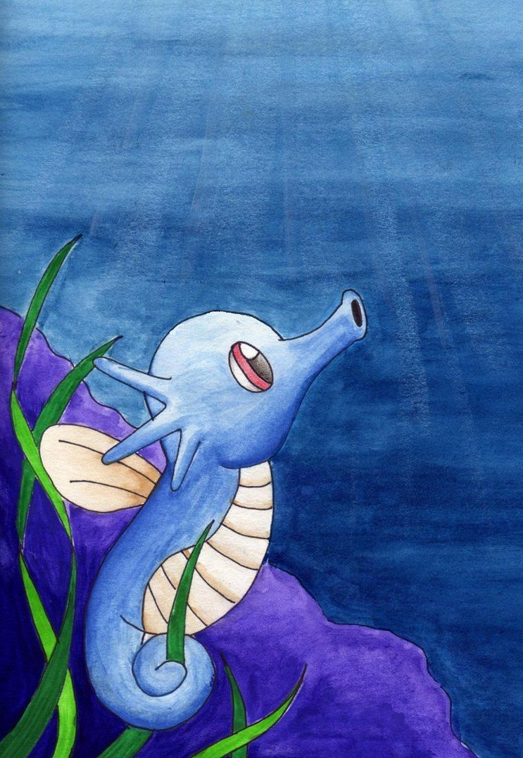 Horsea by superpsyduck on DeviantArt