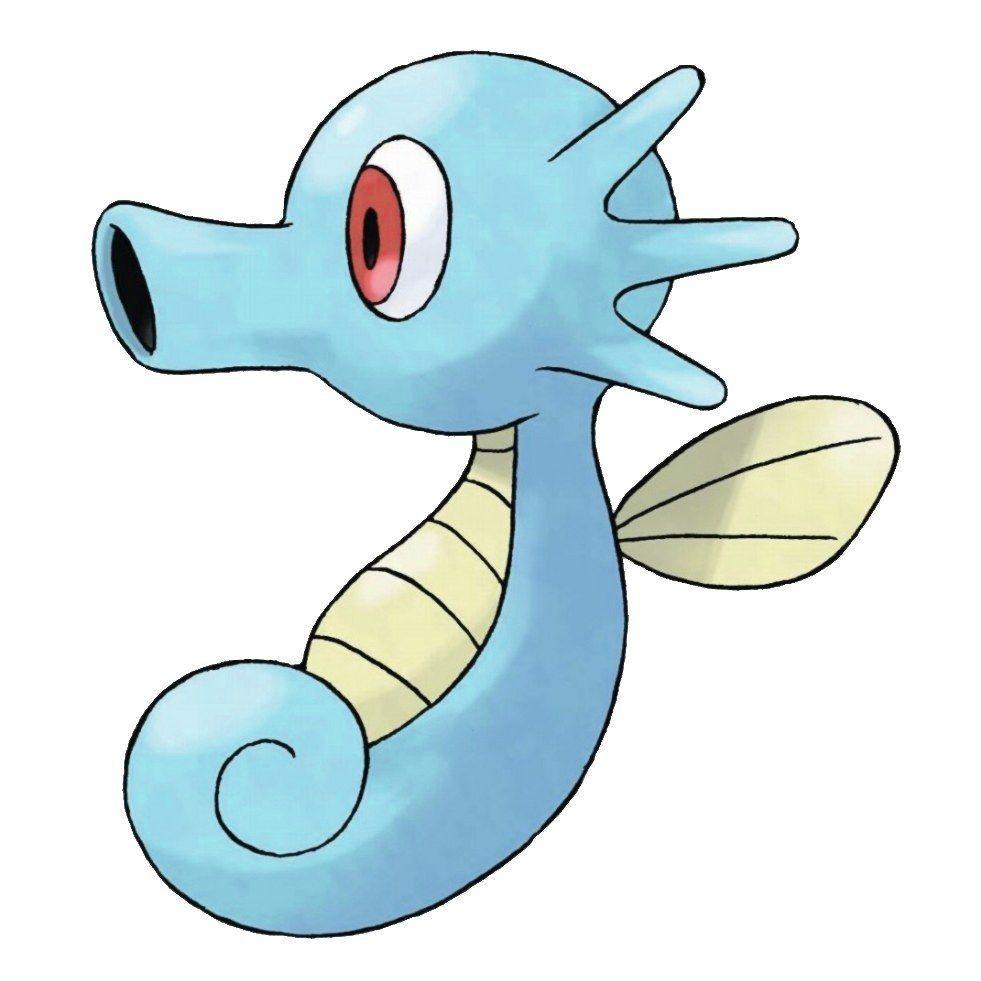 Horsea | Pokémon, Original pokemon and Original 151