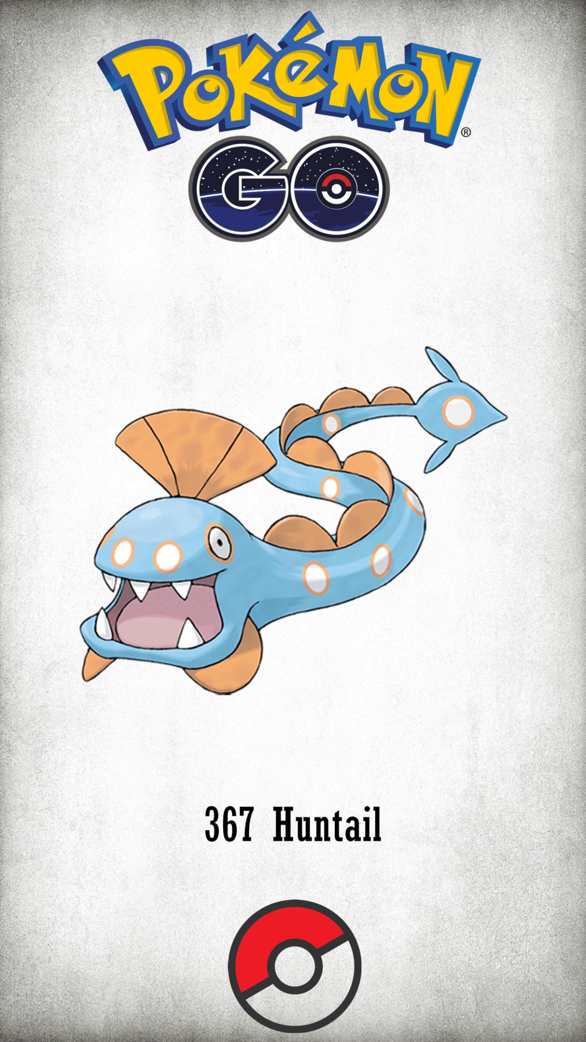 367 Character Huntail | Wallpaper