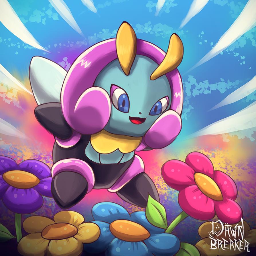 Pin by Rotom Pokedex #001-#493 on #314 – Illumise   Pinterest   Pokémon