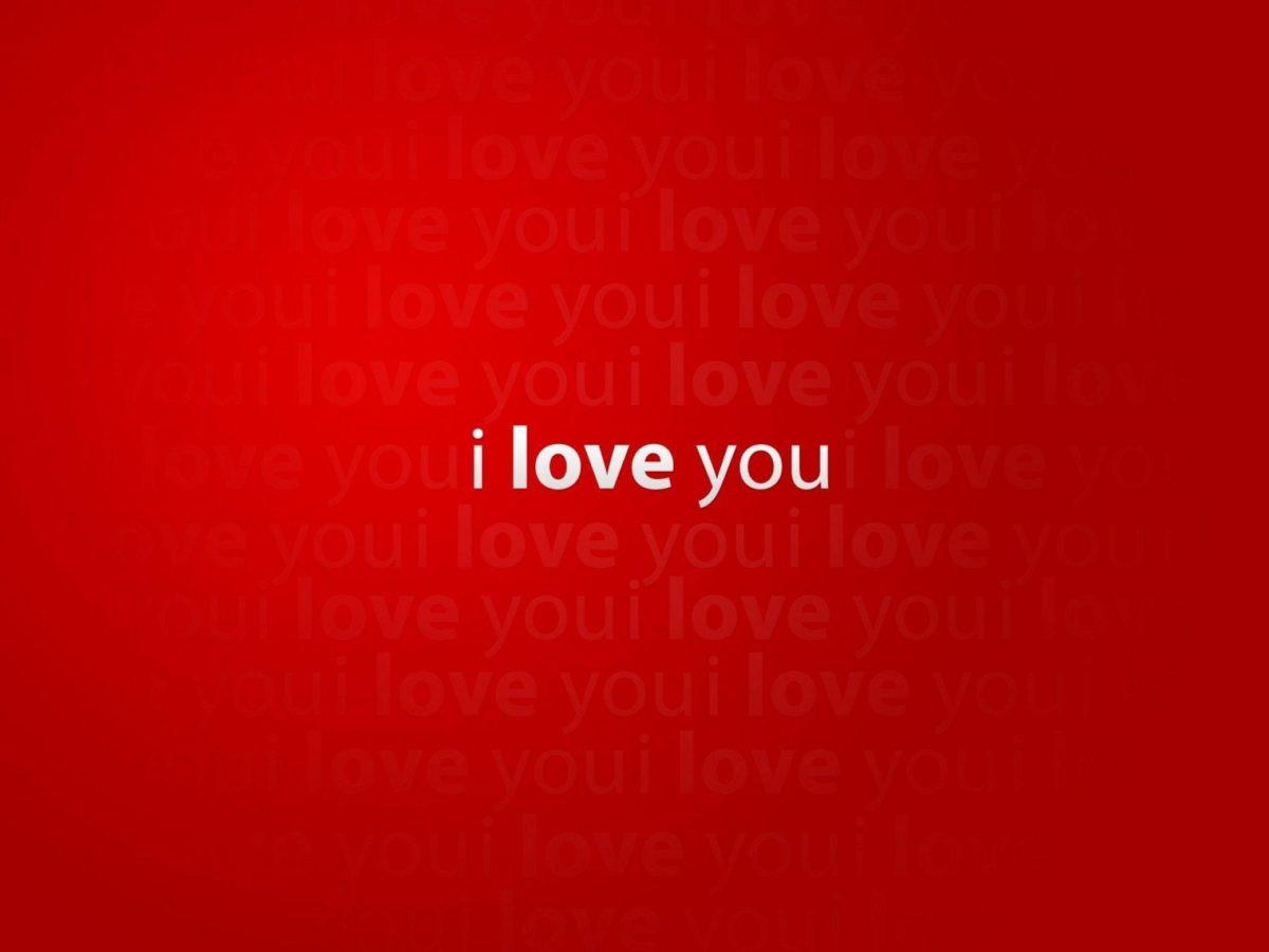 I Love You Desktop Wallpaper 1920×1440 16319 Full HD Wallpaper …