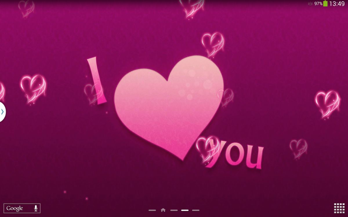 I Love You Live Wallpaper – Android Apps on Google Play