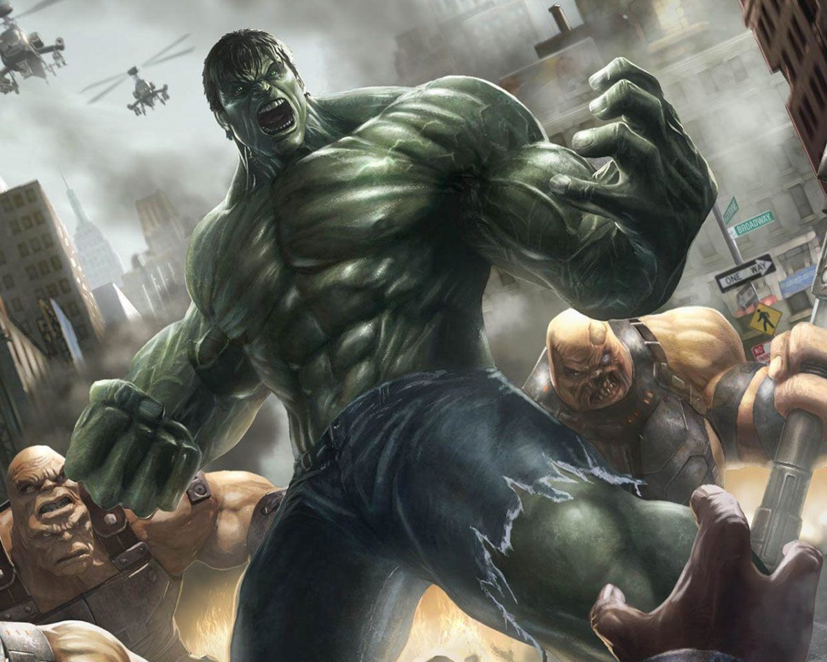 Wallpapers For > The Incredible Hulk Wallpapers