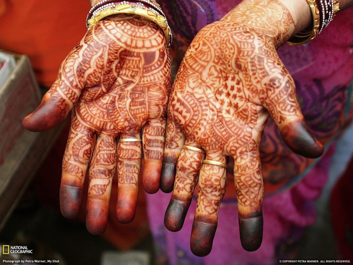 Henna Hands Photo, India Wallpaper – National Geographic Photo of …