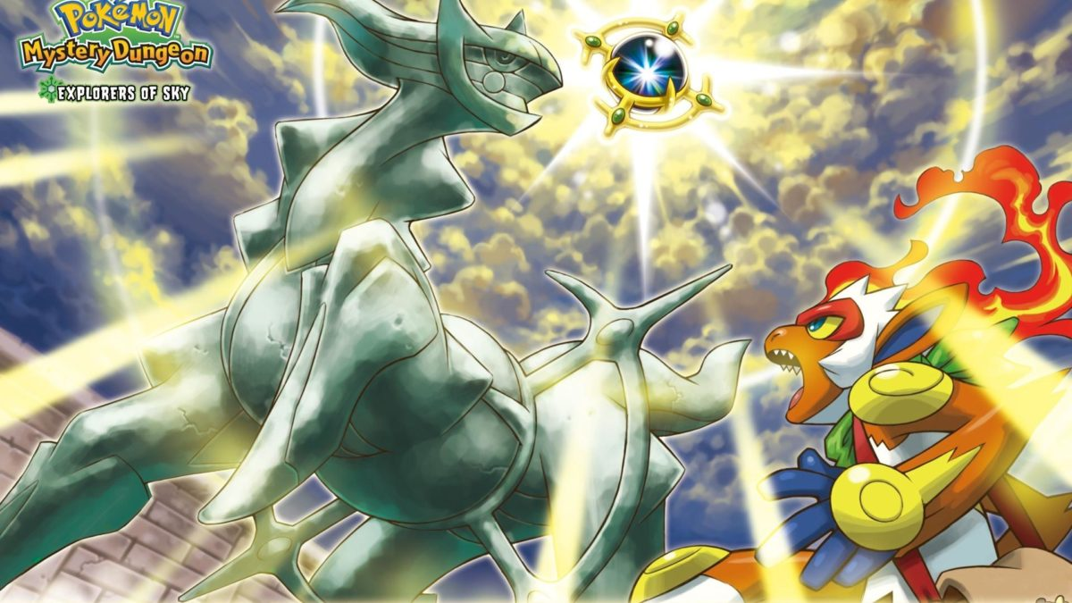 Pokemon tower arceus infernape destiny wallpaper | (117617)