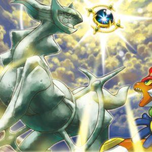 download Pokemon tower arceus infernape destiny wallpaper | (117617)