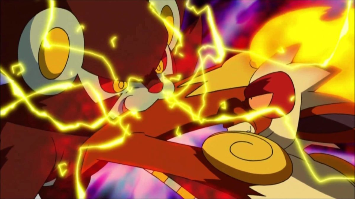 Pokemon Infernape Vs. Luxray – YouTube