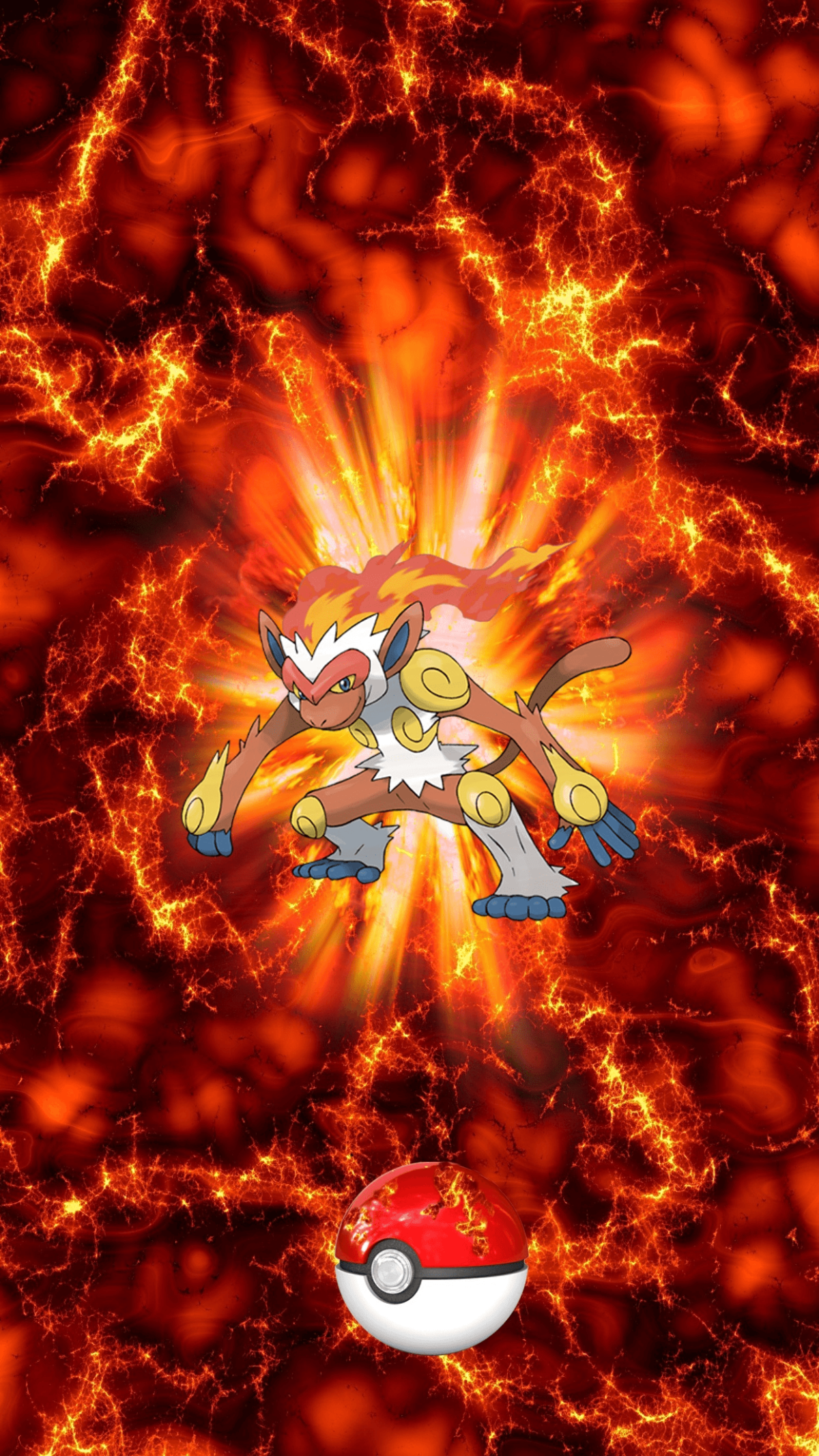 392 Fire Pokeball Infernape Goukazaru 43 Monferno | Wallpaper
